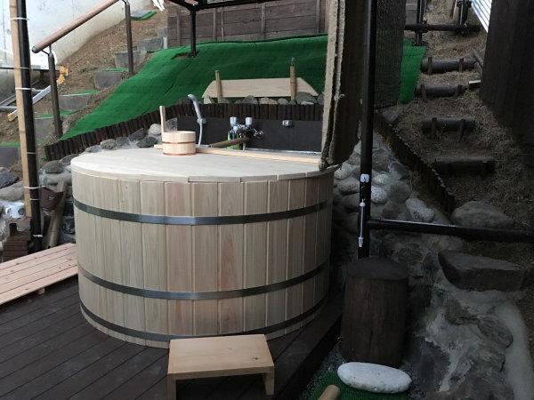 檜風呂 お客様の設置例