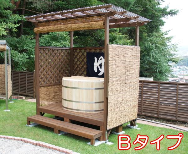 檜の露天風呂 Bタイプ