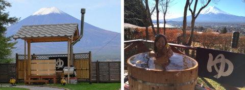 自宅で愉しむ檜の露天風呂 ふじやま工芸